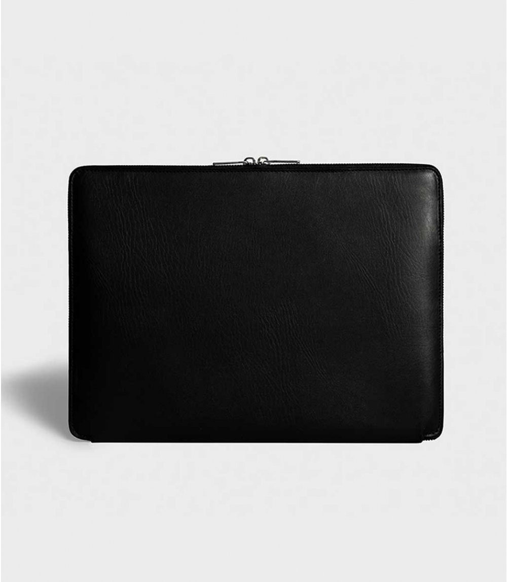 "LAPTOP CASE DOUBLE ZIPPER 13"" , Black"