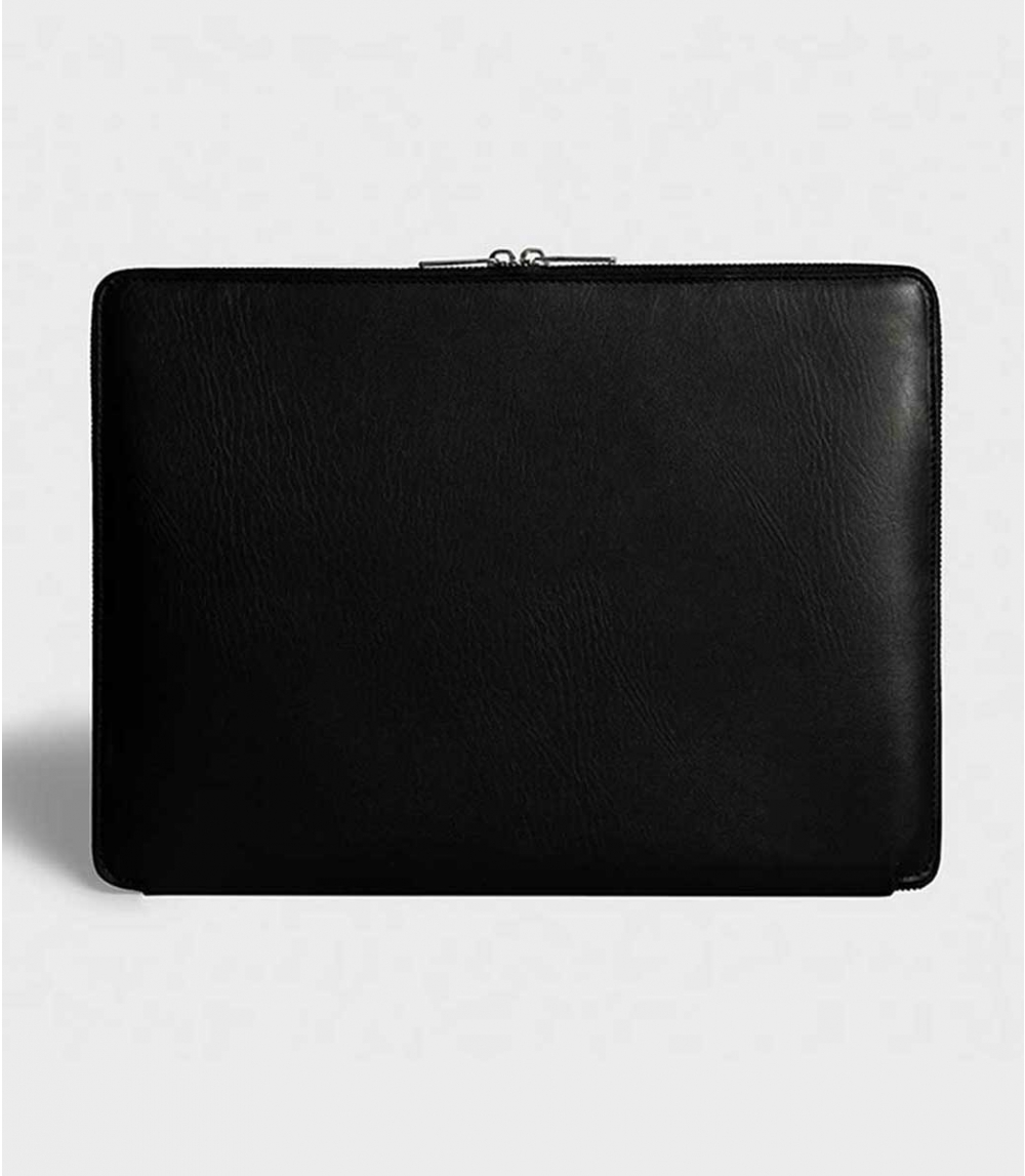 "LAPTOP CASE DOUBLE ZIPPER 15"", Black"