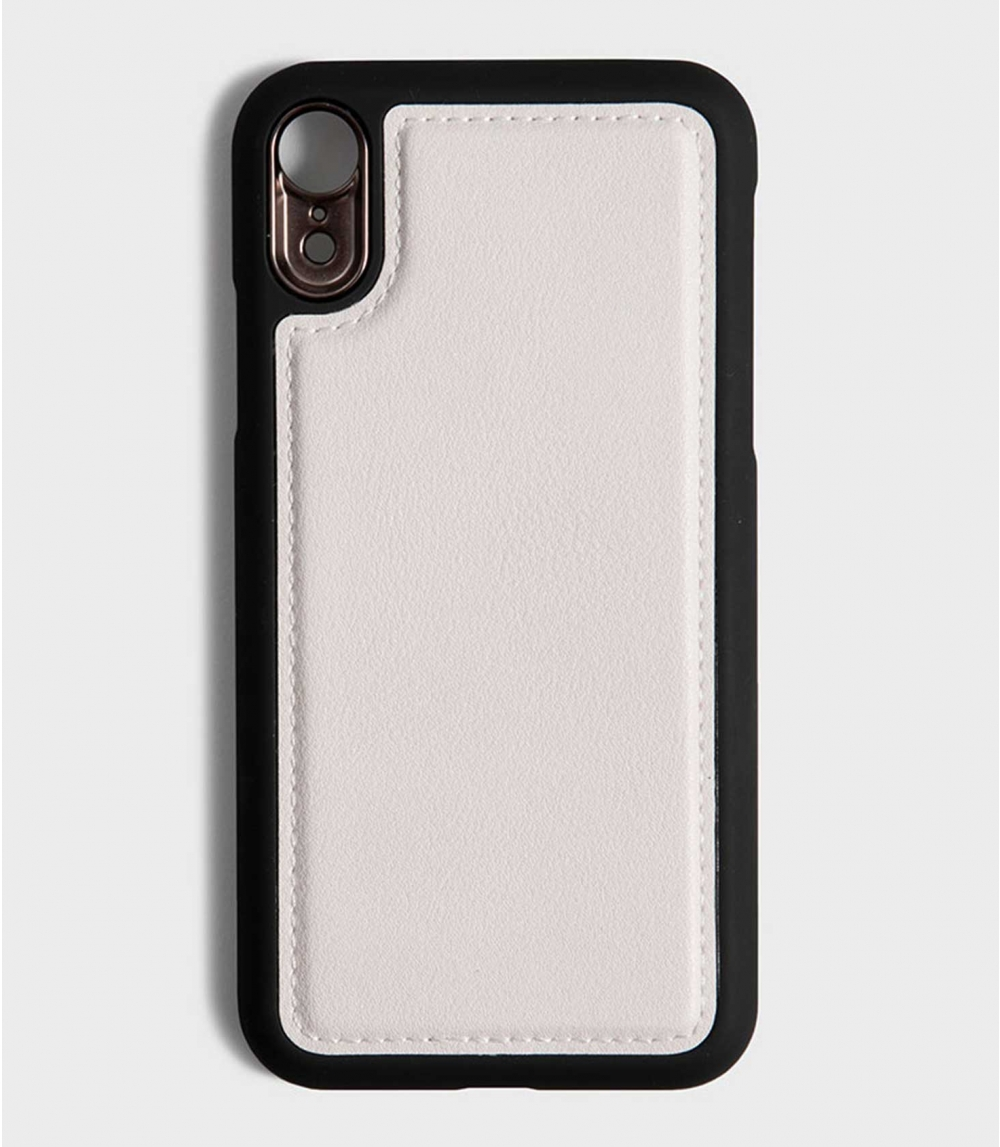 MAGNETIC MOBILE CASE IPHONE  XR, Cold Offwhite
