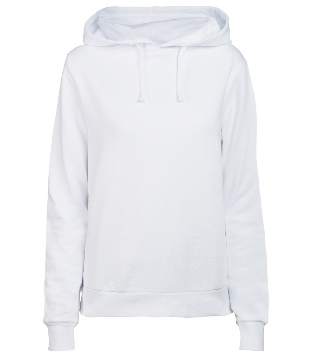 WOMAN COTTON HOODIE REGULAR FIT, White