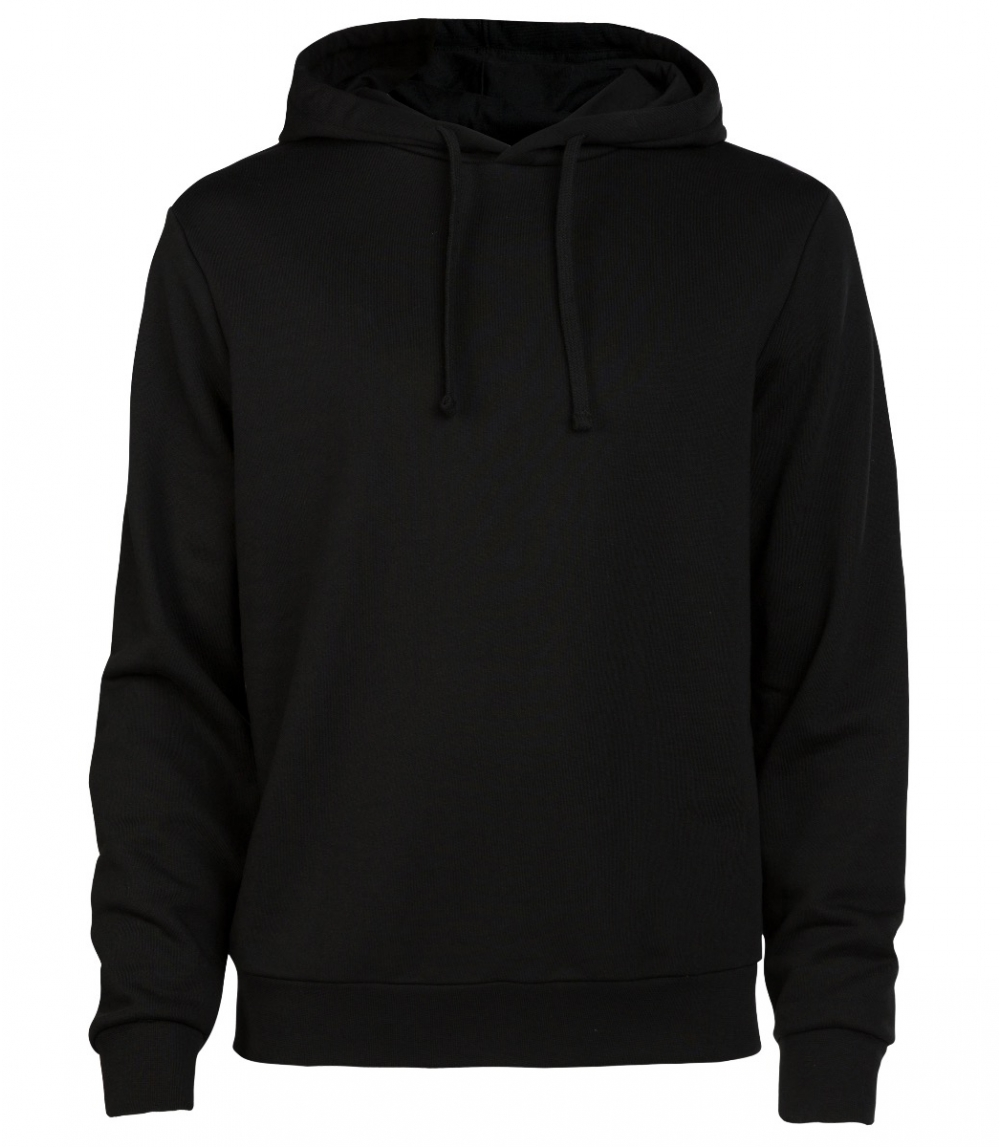 MAN COTTON HOODIE REGULAR FIT, Black