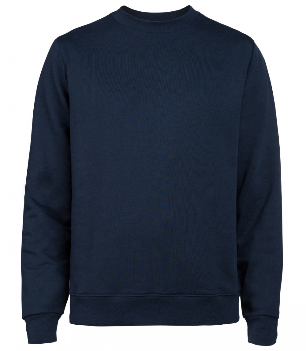 MAN COTTON SWEATSHIRT REGULAR FIT, Navy