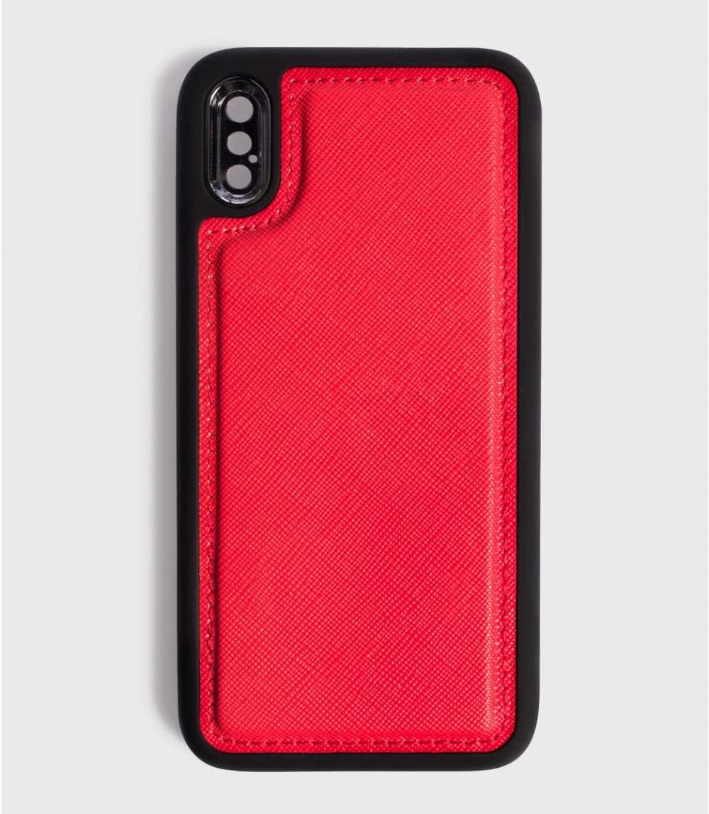 MAGNETIC MOBILE CASE IPHONE  X / XS, Kiss Red