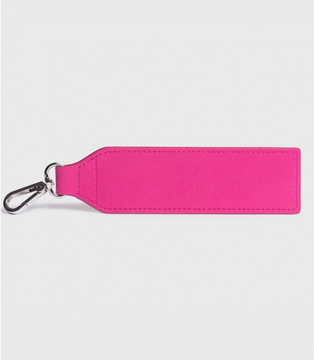 BAG ACCESSORY / LARGE KEY RING, Punch Pink