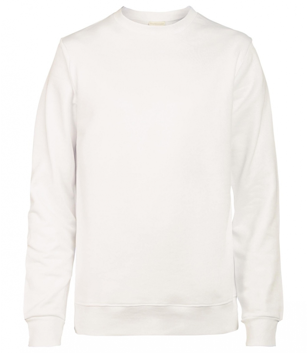 MAN COTTON SWEATSHIRT REGULAR FIT, Offwhite