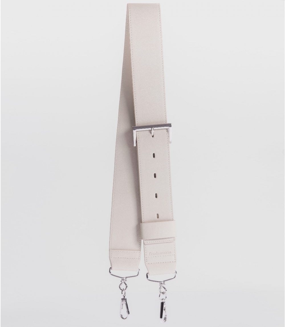 SHOULDER STRAP, Cold Offwhite
