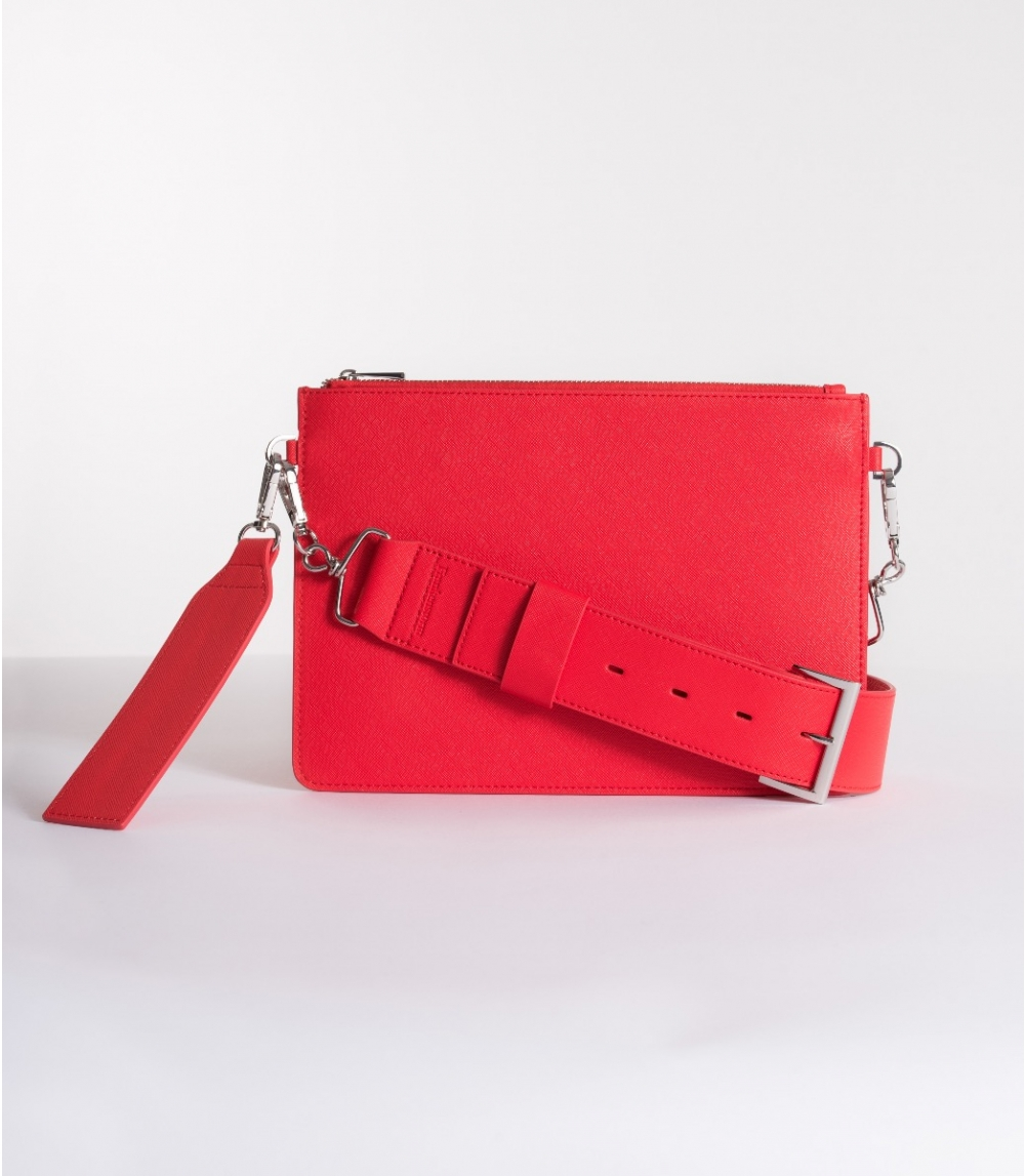 SHOULDER BAG, Kiss Red